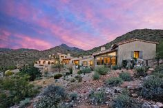 Silverleaf private residence-hillside custom home-Scottsdale Arizona-architect Oz Architects, Inc.-Don Ziebell architect -Silverleaf clubhou...