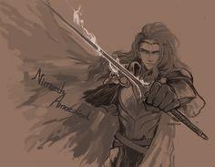 Maedhros in the Nirnaeth Arnoediad…