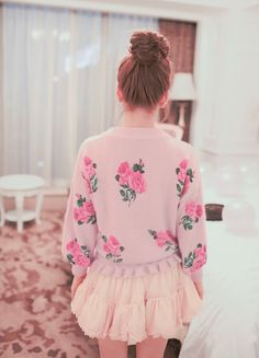 explains it all: floral, pink, cute photography- adorable!