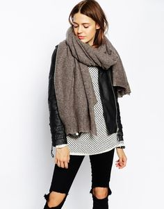 Oversized Knit Scarf | ASOS