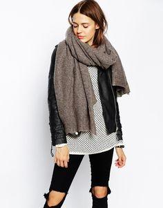 Image 1 ofASOS Oversized Knit Scarf