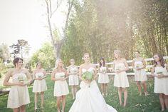 bow bridesmaids