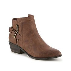 Madden Girl Hunttz Bootie in brown, size 7