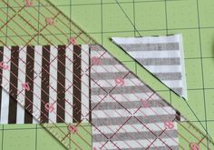 I love a striped binding on my quilts. I take care to ensure that the stripes match up when I sew the binding sections together. It's a small detail, but one that I think gives my quilts a pr…