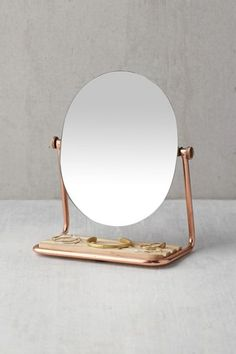 Shop Elizabeth Tabletop Storage Mirror at Urban Outfitters today. We carry all the latest styles, colors and brands for you to choose from right here. Mirrors Urban Outfitters, Storage Mirror, Bathroom Storage, Shower Accessories, Rose Gold, Jewelry Stand, Jewelry Mirror, Jewelry Tray, Jewelry Holder