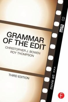 Cover image for Grammar of the edit