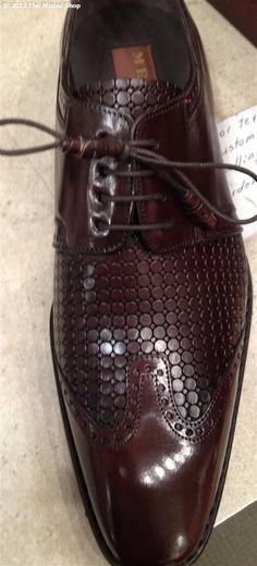 The Mister Shop - *SALE* Spring 2013 Mezlan 'Conrad' Lace-up Shoe (Formerly Greco) @ www.themrshop.com