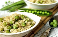 Ricetta Quinoa con piselli al curry - Quinoa and peas curry