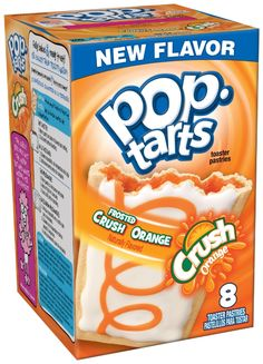 Pop-Tarts has announced two new soda themed flavors, A&W Root Beer and Orange Crush. Available at retailers nationwide in May new Pop-Tarts Frosted Funny Food Memes, Food Humor, Pop Tarts, Pop Tart Flavors, Orange Frosting, Capas Samsung, A&w Root Beer, Ice Cream Candy, Orange Soda