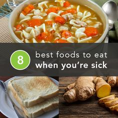 The Best and Worst Foods to Eat When You're Sick -Posted by Cindy Shih on February 2014 (Best Soup When Sick) Healthy Habits, Healthy Tips, Healthy Recipes, Sick Recipes, Stay Healthy, Healthy Food, Eat When Sick, Food When Sick, Just In Case