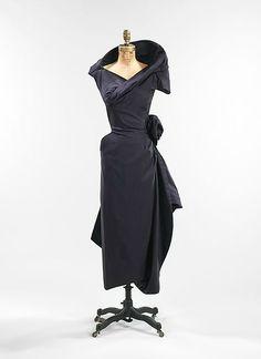 Charles James (American, born Great Britain, 1906–1978), Cocktail dress, 1952…