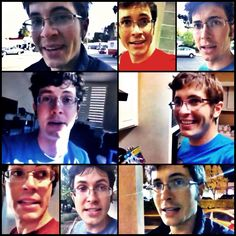 toby w/ glasses on :) he's such a nerd!!! I love it!!