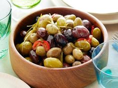 Get Spicy Roasted Olives Recipe from Food Network