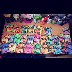 Trendy door decs college girls names Ideas Dorm Name Tags, Ra Door Tags, Ra Themes, College Bulletin Boards, Door Decks, Dorm Door, Residence Life, Resident Assistant, Res Life