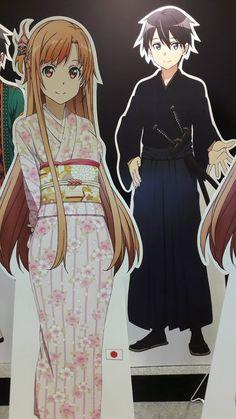 "Crunchyroll - ""Sword Art Online"" Global Variants Of Kirito And Asuna Displayed"