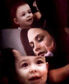 Bella with Renesmee....so cute!!