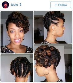 Updo #naturalhair