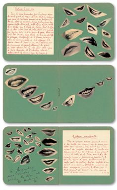 Marcel Mariën, pages from correspondence to Jacqueline Nonkels 1937–38