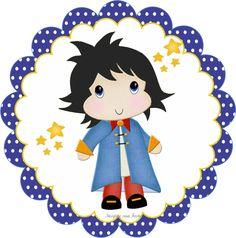 Pequeno Príncipe Moreno: Kit festa infantil grátis para imprimir – Inspire sua Festa ®  http://inspiresuafesta.com/pequeno-principe-moreno-kit-festa-infantil-gratis-para-imprimir/