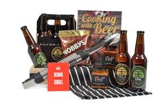 GIFT HAMPER FOR MEN  For a perfect way to say happy birthday, happy anniversary or just thank-you. Bring out the gourmet chef in your favourite BBQ king whilst sampling the beers of the Mornington Peninsula. Enhance the flavours of the grill with a variety of chilli sauces. Delivery: Melbourne, Victoria