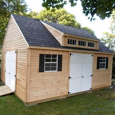 Dormer style ideas shed dormer windows cedar shake for Shed with dormer