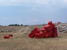 CALERN 2006 installation #JeanLouisCHARPENTIER © Land Art