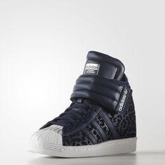 adidas Superstar Up Strap Shoes - Blue  5ac958c5e36