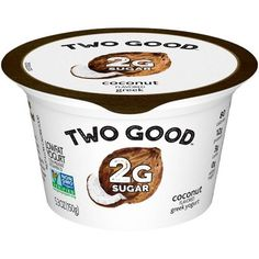 Dannon Two Good Coconut Yogurt - 5.3oz