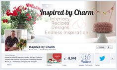 I'm having a little blog party on my Facebook Page this weekend. Hop on over to join in on the fun and conversation. Lots of fun ideas!     www.facebook.com/inspiredbycharm