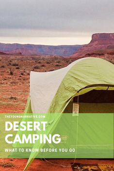 Spring is the best time to camp in the desert. Check out my tips to make the most out of your next outdoor adventure. Camping Hacks, Tent Camping, Camping Essentials, Camping Life, Camping Gear, Campsite, Camping Cooking, Backpack Essentials, Camping Outfits