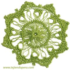 hairpin lace - horquilla circular - with video tutorial+pfotos Hairpin Lace Crochet, Hairpin Lace Patterns, Broomstick Lace Crochet, Crochet Motif, Freeform Crochet, Crochet Tunic, Crochet Dresses, Crochet Tops, Unique Crochet