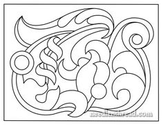 Jacobean Jumble embroidery pattern
