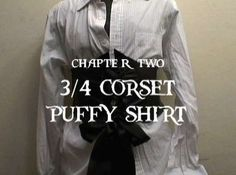 tutorial: pirate corset, hat, and shirt
