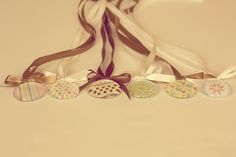 Ribbon necklace tutorial must try! find #diyjewelrysupplies at www.eCrafty.com