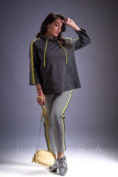 Casual Wear Women, Suits For Women, Blouse Styles, Blouse Designs, Moda Zara, Sport Chic, Sport Wear, Sport Outfits, Style Guides