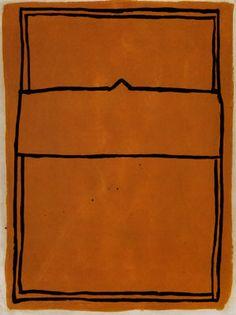 Joan Hernández Pijuan, La casa desde la que se divisa el campo, I, Aguatinta, 1989. Graphic Design Inspiration, Color Inspiration, Dark Tan, Art Sketchbook, New Art, Painting & Drawing, Artwork, Prints, Printed Matter