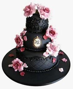 Esta fue la primera tarta decorada que vi en mi vida fue en una revista creo q en la glamour ( o parecida) en un reportaje de bodas y me quede enamorada ( aun guardo el recorte)