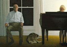'Living Room 2000' by Alex Colville<br />Copyright A.C.Fine Art