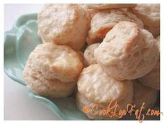 This low fat easy biscuits recipe is a keeper! Whip up a quick batch of homemade flaky, buttery biscuits tonight.