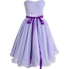 39,90EUR Kleid flieder lila Bustierkleid