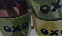 """oxo."" by wannes van moeseke in De Canvascollectie / La Collection RTBF on http://gallery2012.canvas.be/schilderij-peinture/oxo-2/"