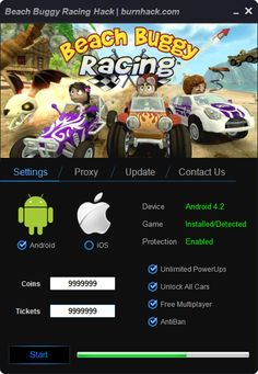 Beach Buggy Racing Hack Cheat Unlimited Coins Android   http://burnhack.com/beach-buggy-racing-hack-cheat-unlimited-coins-android/