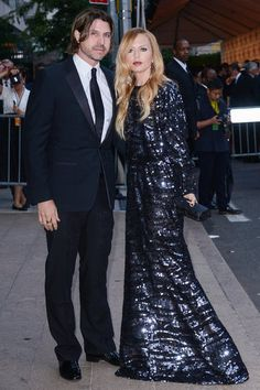 Rodger Berman and Rachel Zoe in CDFA awards love racheal zoe's dress glamour