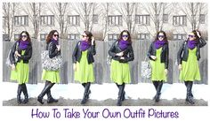 How to take your own outfit pictures. #OOTD #bloggingbasics