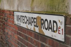 Whitechapel, London-- old stomping grounds for Jack the Ripper... and my Family…
