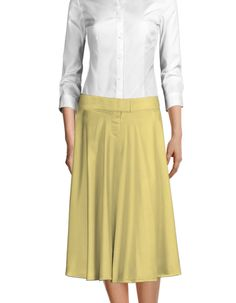 Midi skirts are the perfect addition to your Spring wardrobe ☀️ Made to YOUR measurements! Midi Skirts, Cotton Skirt, Suits For Women, Shop Now, Shirt Dress, Female, Yellow, Spring, Womens Fashion