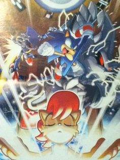 Sonic the hedgehog variant cover for Two Steps Back