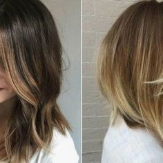 Awesome Medium Length Hairstyles 2020 - Pretty Hottest Shoulder Length Haircuts Part 26 Asymmetrical Hairstyles, Layered Haircuts, Trendy Hairstyles, Haircut Parts, Kinds Of Haircut, Short Hair Cuts, Short Hair Styles, Haircut Pictures, Best Hair Salon