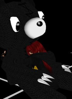 Who doesn't need a hug once in a while from there stuff fluffy friends?   (*Me IMVU avatar *)