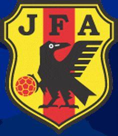 Yatagarasu 八咫烏 el cuervo del escudo de la selección de futbol japonesa.Yatagarasu:Japanese mythological bird